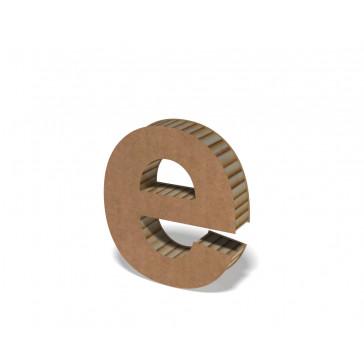 Lettre en carton hauteur 25 cm