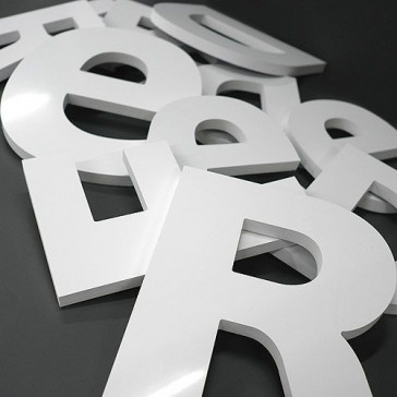 Lettre en PVC 5 mm