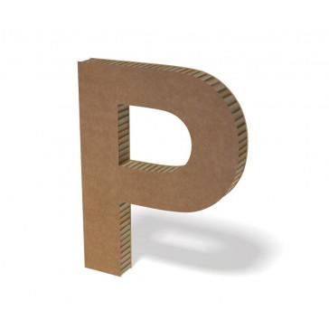 Lettre en carton hauteur 50 cm