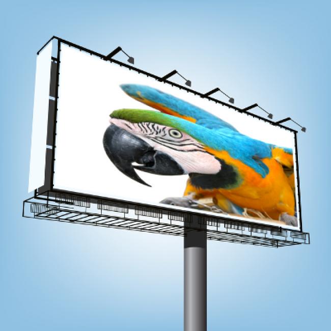 Impression b che pvc mesh et banderole publicitaire grand for Impression bache