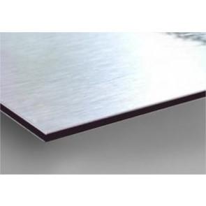 Panneau aluminium brossé