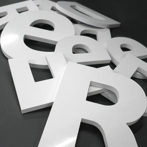 Lettre en PVC 3mm