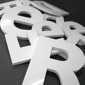 Lettre en PVC 10 mm